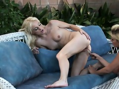 genesis skye and angela stone in nature in the