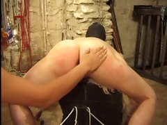 masked doxy receives tortured by her goddess