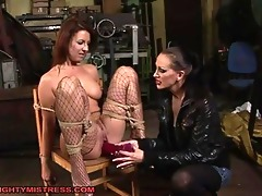 hawt lesbo corporalist and excited bounded doxy