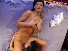 hawt youthful lesbo hotties tongue and toy pink
