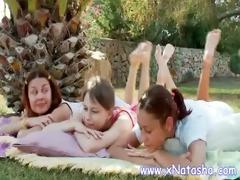 lesbo nubiles having pleasure