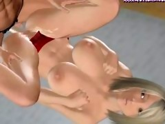 animated lesbos enjoying a ding-dong