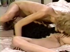 impure retro twin sisters in a hot lesbo action