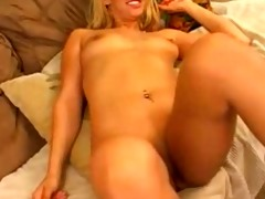 pleasing lesbian babes having joy with ding-dong