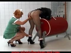 lesbian prison medical nurse humiliation slavery