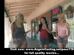 stunning superb golden-haired lesbo cuties