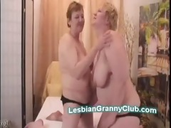 sexually excited overweight old lesbos go naughty