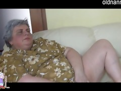 big beautiful woman granny and juvenile cutie