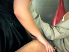 smart outstanding lesbos using thong