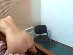 pretty euro sweetheart acquires an anal workout