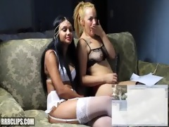 10 lalin girl lesbos dominate eachother and squirt