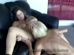 older golden-haired lezzie erica goes naughty on