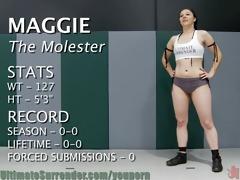 girl-on-girl wrestling! loser eats pussy.