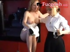 hawt lesbo aunts removes costume and fucking clip