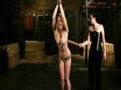 unshaved girls cry humillation thraldom