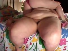 obese lesbian honeys toying & licking