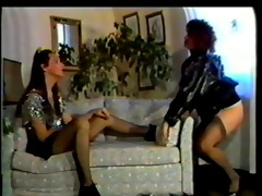 mn - 89 outlandish - latex - nylon - lesbian -