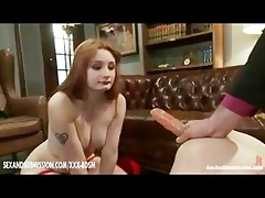 lesbos share the same anal toy