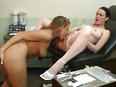speculum strumpets examine threesome hawt lesbo
