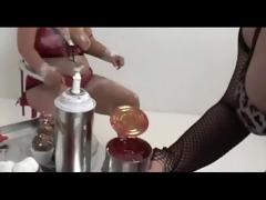 lesbo plumper food fetish