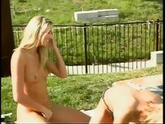 breathtaking blonde girlfriends have wild lesbo