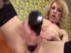 sexy granny and her toys. fisting by juvenile