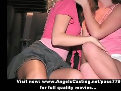 admirable delightful lesbo sweethearts talking