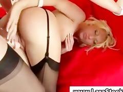 mature european lesbian copulates playgirl in