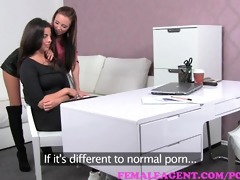 femaleagent. charming and real lesbo orgasms