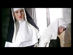 nasty nuns pray to cum
