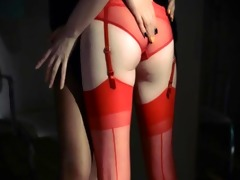 unparalleled lesbs in hose using thong