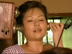 tamaki sakura - lesbo giving a kiss short scene 2