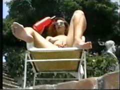 a summer day. (classic lesbo scene)