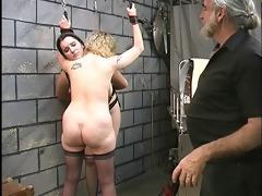 cute basement sadomasochism lesbian babes make