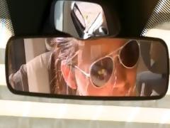 sapphic allies eating love tunnels in a car