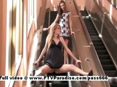 faye and larysa delicate breathtaking lesbos in