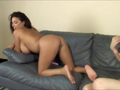 dark on white breasty lesbians with alexis silver