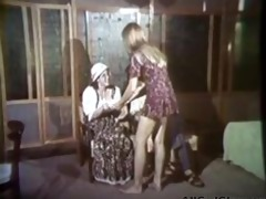 carol connors in vintage shower lesbian act lesbo