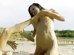 beauties in mud