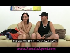 femaleagent boyfriend leaves and shes all mine