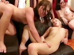 insane college party fuckfest