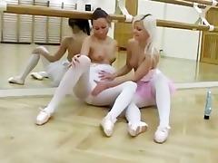 hot teen lesbos after ballet