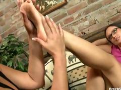 czech hawt feet - andrea