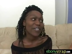 strapon lesbo interracial sex 4