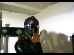 lesbo domme enjoys trio perverted joy