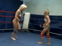 wild lesbian babes fighting