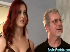 punishing breasty lesbos with dildos video-610