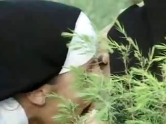 nuns a-hole licking