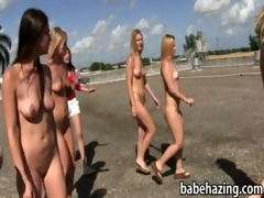 bare angels played human croquet then eat vaginas